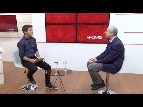 AHORA TV   Entrevista a Martín Brook, Cónsul de Italia