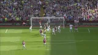 Video Gol Pertandingan Aston Villa vs Swansea City