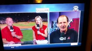 Bob Brenly on the Dodgers coming to Chase Field
