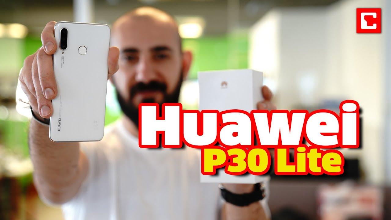 Huawei P30 lite Kutu Açılışı ve İnceleme   P30 64 GB Fiyatı ve Özellikleri
