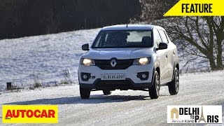 #KwidDrive2Paris| Webisode 09 | The Kwid Enters Europe | Autocar India