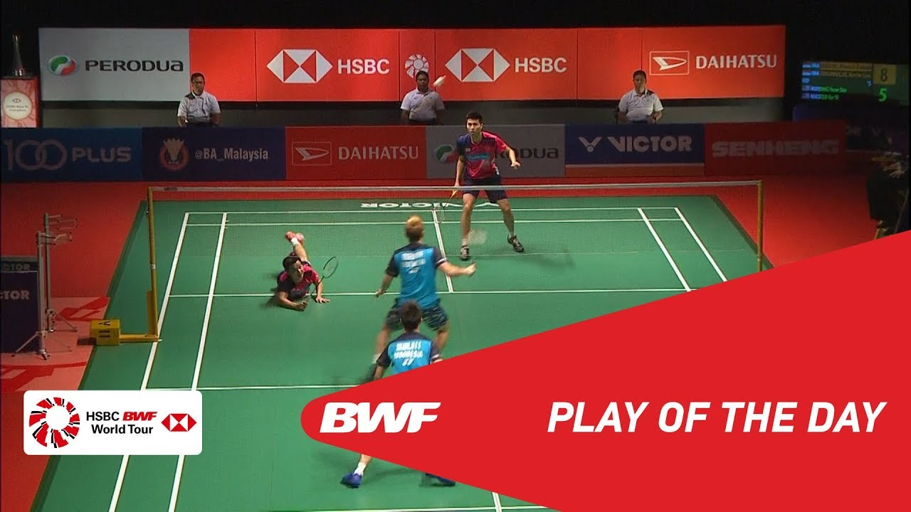 Play Of The Day  PERODUA Malaysia Masters 2019 F  BWF