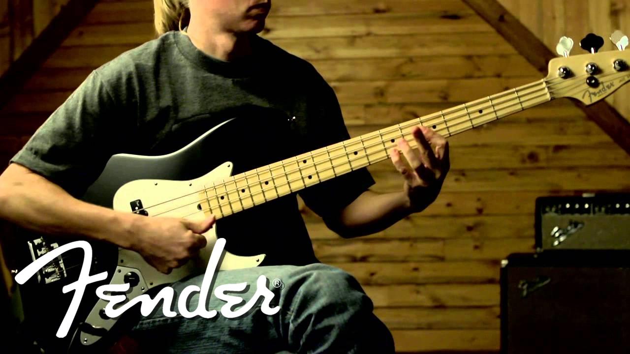 fender n3 noiseless jazz bass pickups clean fender youtube. Black Bedroom Furniture Sets. Home Design Ideas
