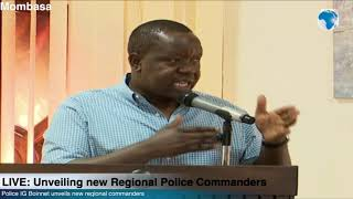 Matiang'iasserts that regional commanders are leaders of national government functions in regions