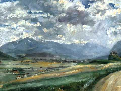 German Impressionist Landscape Painting Exhibit - German Impressionist Landscape Painting Exhibit - YouTube