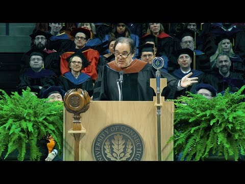Oliver Stone's 2016 UConn Commencement Address