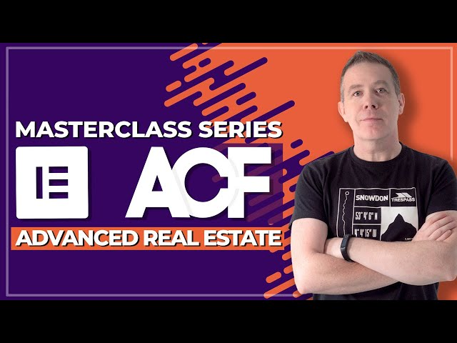 Advanced Custom Fields Pro & Elementor Pro - Advanced Real Estate Website