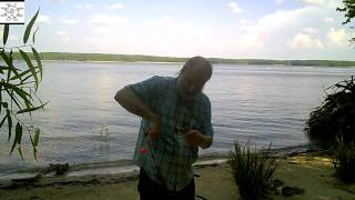 Uncle Steve Fishes In Storm Turbulence