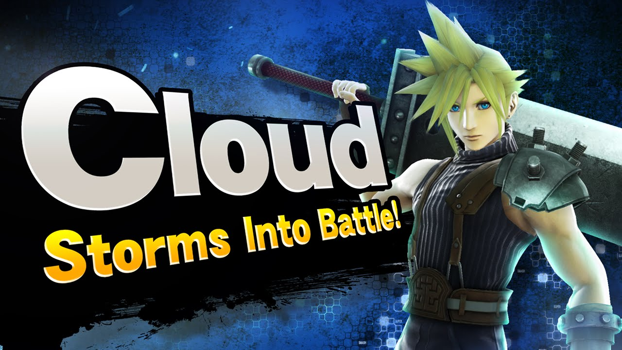 Wii U Screen Savers : Super smash bros cloud storms into battle youtube
