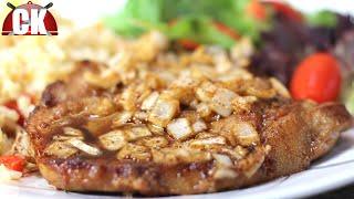 Pork Chop Recipe - Pork Chops With Maple Sauce!