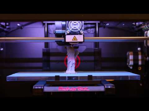 3D Printer Time Lapse at the CU Book Store