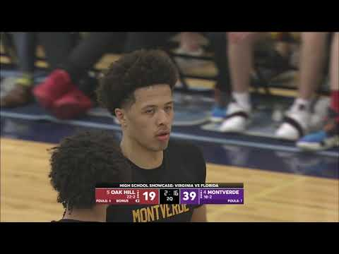 Cade Cunningham and Precious Achiuwa SHOW OUT in Montverde's win over Oak Hill