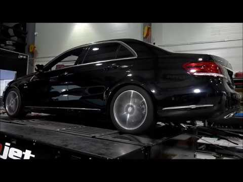 2016 Benz W212 E250 BlueTEC 4MATIC Mar's ECU Tune Dyno Test 208HP