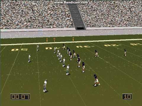 Football Pro 98 with Meringer! Denver vs Seattle Quick Match Part 2