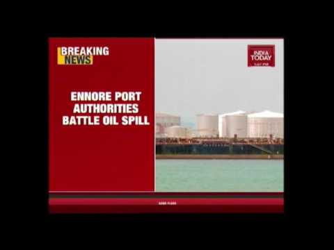 Two Oil Ships Collide Of Ennore Port