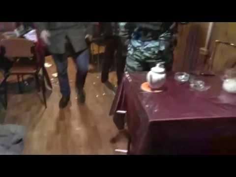 задержание бандитов с тротилом (оперативное видео)