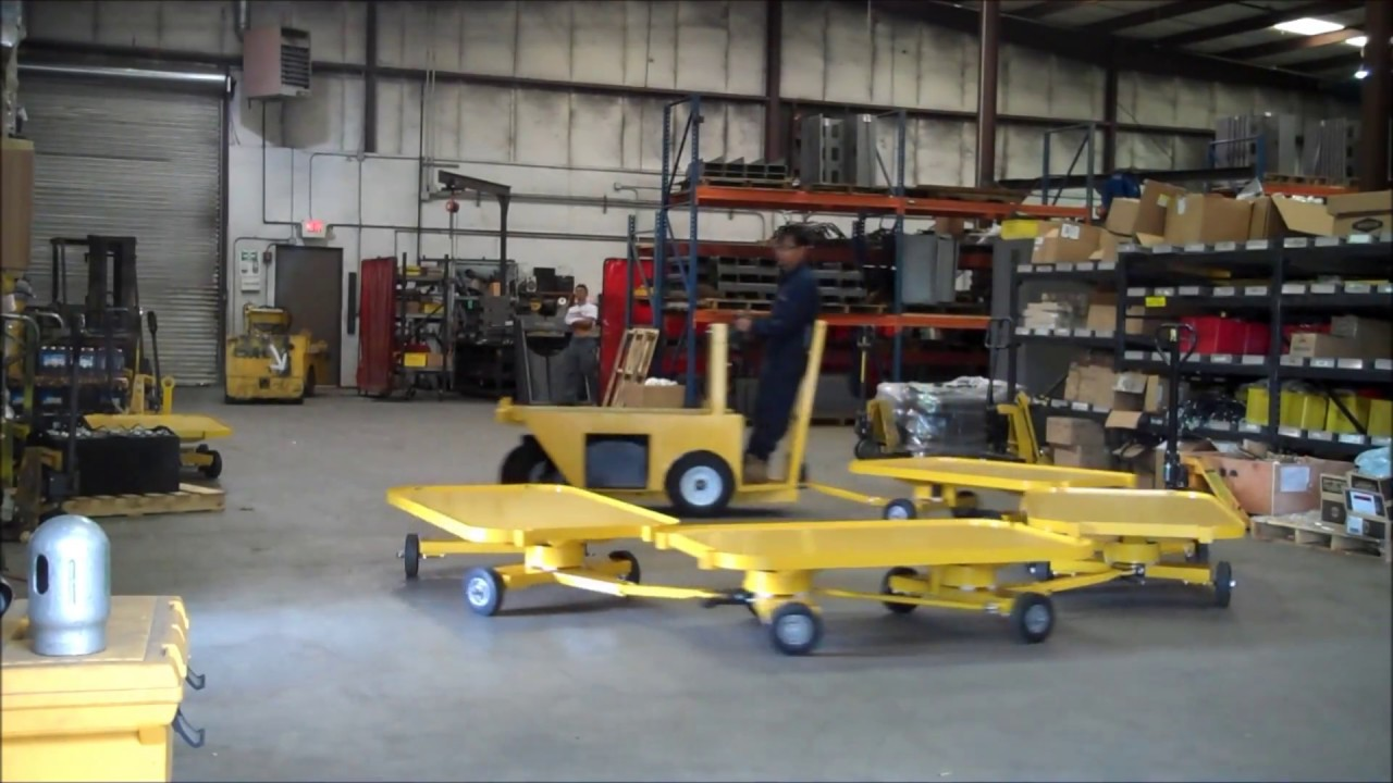 Pack mule four wheel steer trailers youtube for Benetton 4 wheel steering