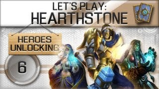 Hearthstone Beta - Unlocking Heroes Part 6 - Warrior VS Warlock
