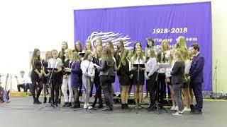 Koncert Pieśni Patriotycznej w II LO w Działdowie