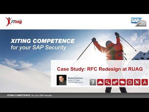 Webinar: RFC Redesign at RUAG AG