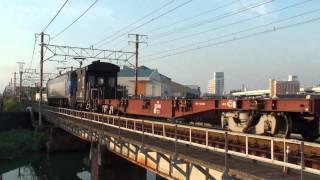 2010-09-18 [東海道本線] EF200-6 + ヨ8000形 + コキ50000形 + コキ100系 + コキ200形, 高速貨951
