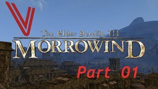 Let's Play Morrowind part 1: The Road to Balmora