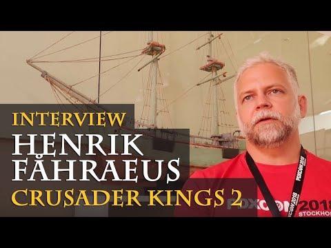 Interview with Henrik Fåhraeus - Crusader Kings 2 - Holy Fury, Plans etc. (PDXCON 2018 / English)
