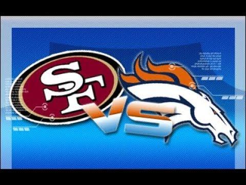 49ers vs Broncos Highlights   Preseason Week 2   2017
