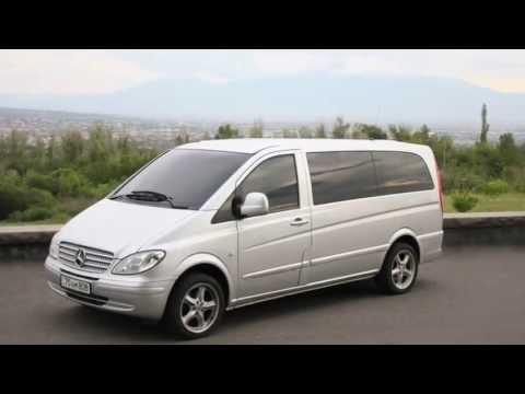 Mercedes-Benz Vito Minivan Rental In Yerevan, Armenia