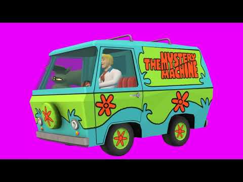 animations mega pack of the mystery machine Fred Jones chroma