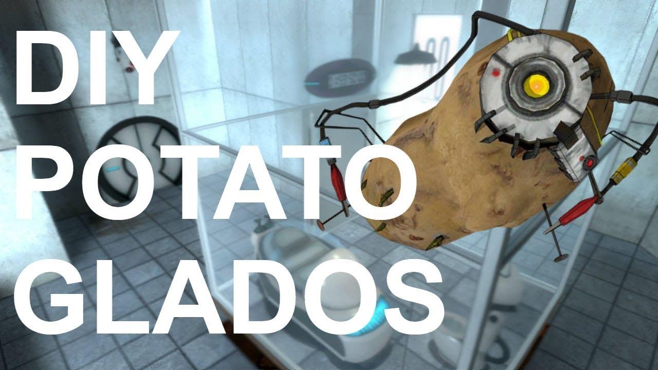 Diy Portal 2 Potato Glados Youtube