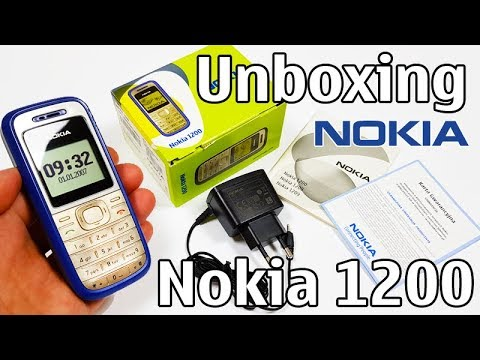 Nokia 1200 Unboxing 4K with all original accessories RH-99 review