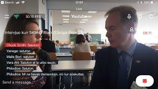 Intervjuo kun Seán Ó Riain de EEU (Epizodo 4)