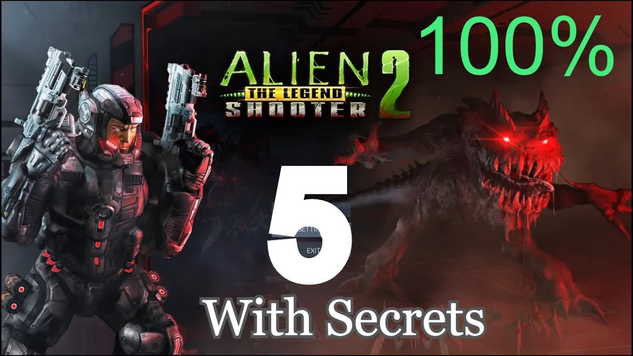 Alien Shooter 2 The Legend - Mission 5 With Secrets