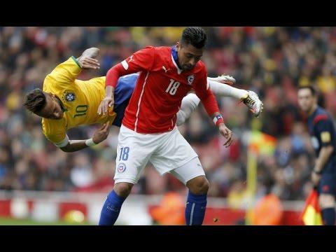Chile 0 - 1 Brasil | Amistoso 2015 | Claudio Palma