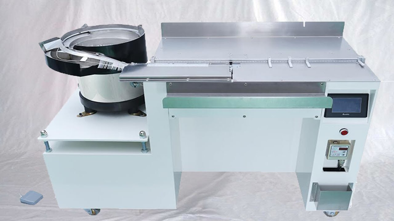 Automatic Cable Tying Machine Nylon Wire Tie Banding Equipment 尼龍 ...