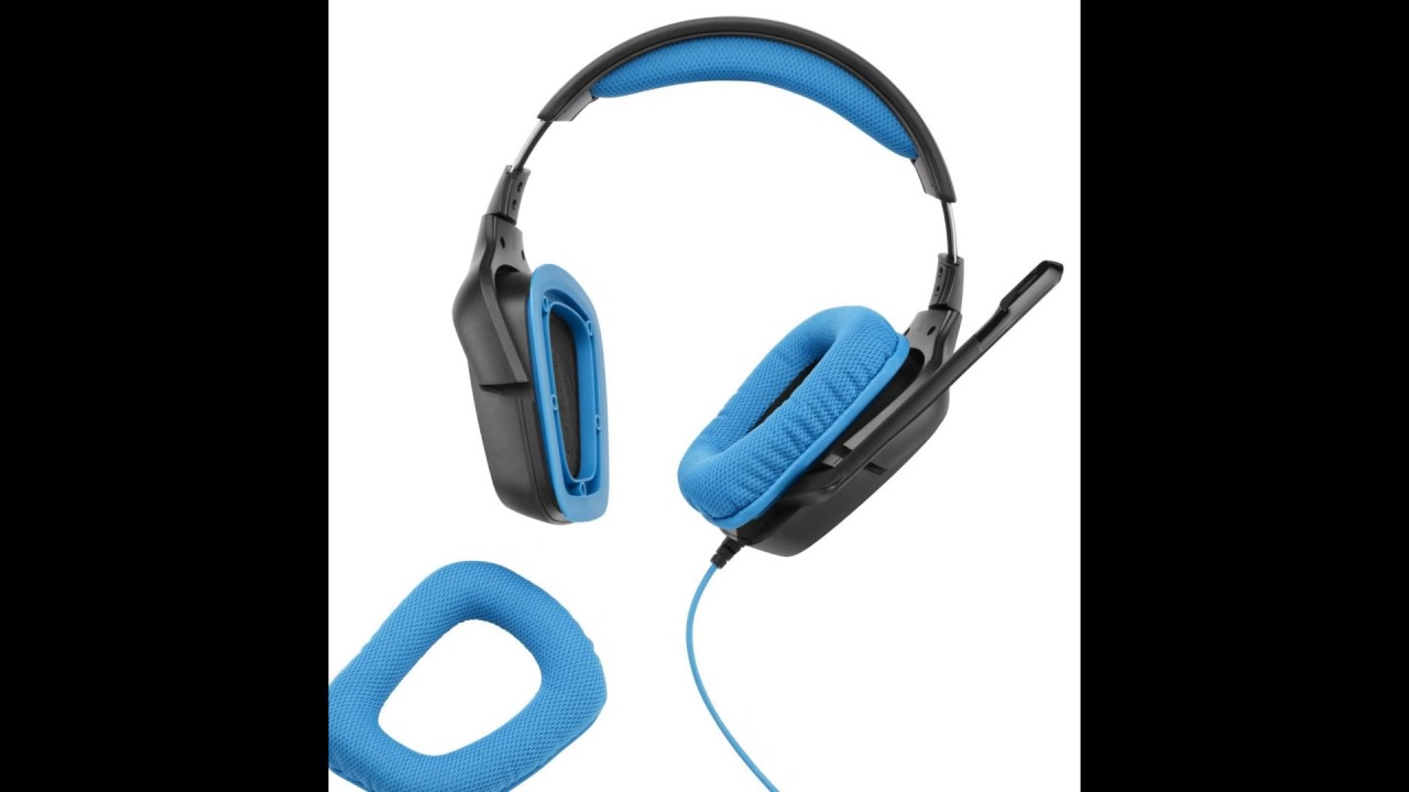 981-000536 Logitech G430 Gaming Headset with Dolby 7.1 Surround Sound