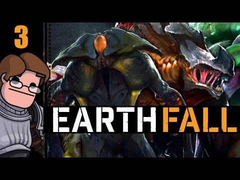 Let's Play Earthfall Co-op Part 3 - Supply Run
