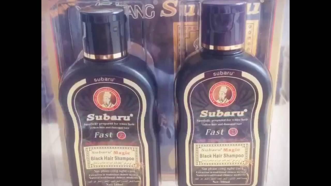 Dexe Subaru Black Hair Shampoo Youtube