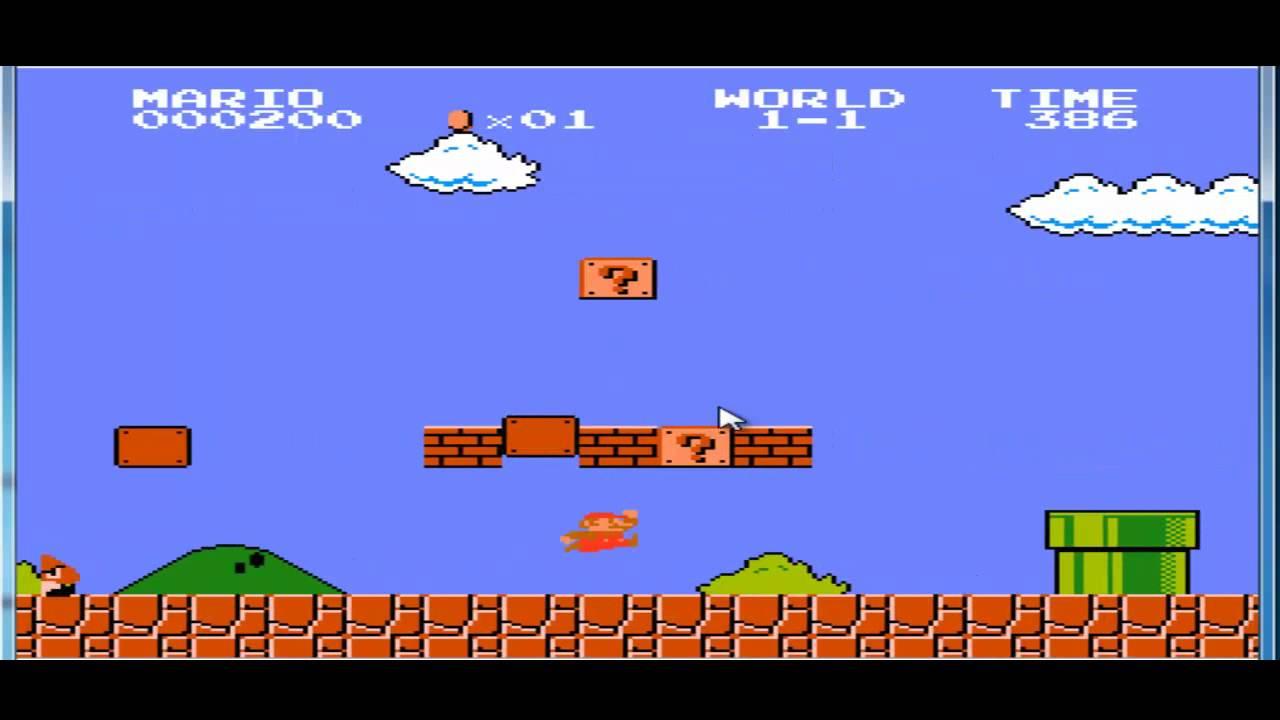 Episodio 1 De Juegos Antiguos Mario Youtube