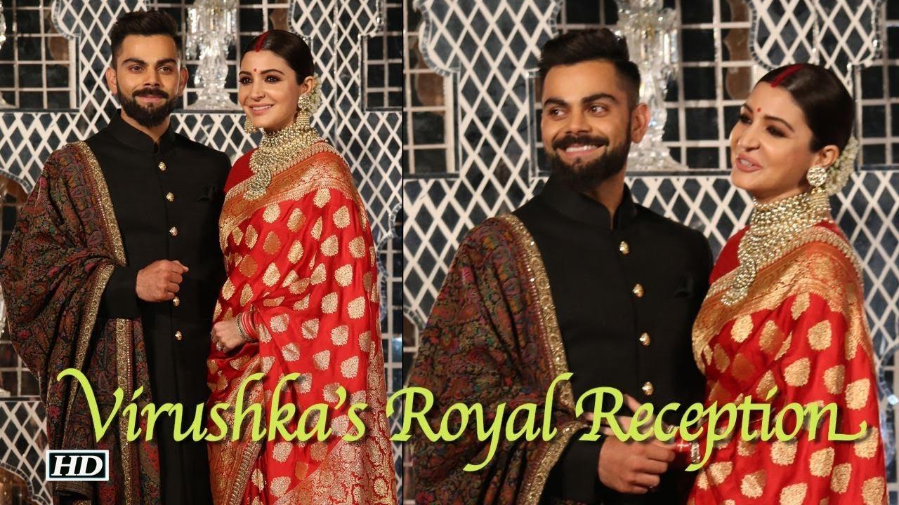 Virat Anushka Royal Wedding Reception Youtube