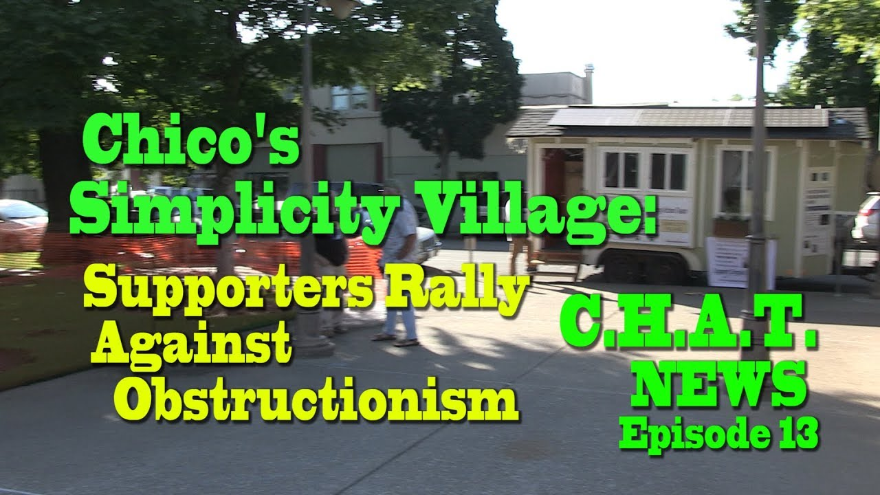 Battle At The Planning Commission Of Chico Ca Over Tiny