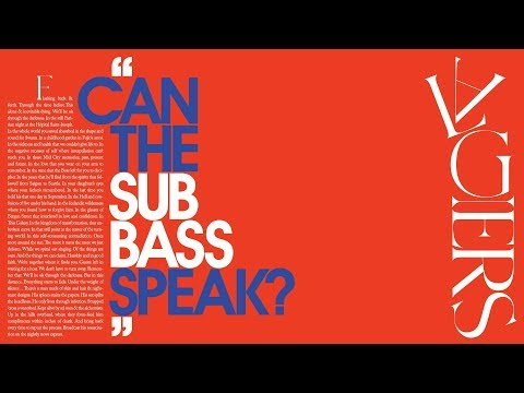 """Algiers - """"Can the Sub_Bass Speak?"""" (Official Visual)"""