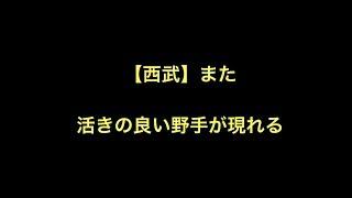 プロ野球 【西武】 また活きの良い野手が現れる 今日育成の高木が 3打席...