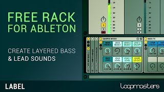 FREE Ableton Rack for Basses Leads - From Producertech