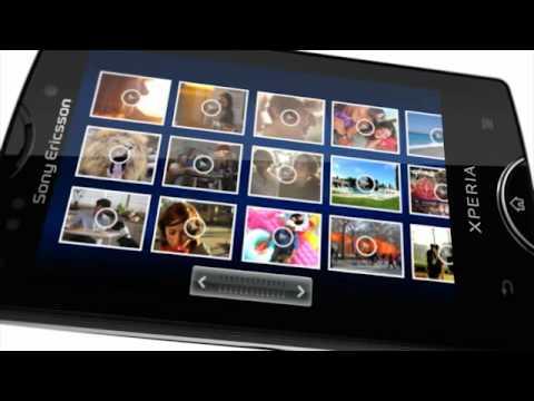 Sony Ericsson XPERIA Mini Pro video ad