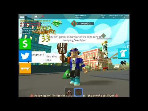 roblox poop scooping simulator all codes