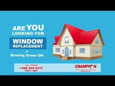 Window Replacement Bowling Green OH. Call 1-888-269-9275 10am - 6pm M-F   Home Windows
