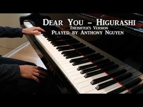 Dear you - Higurashi (piano)