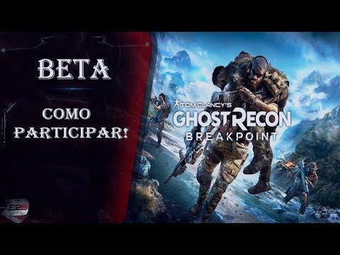 Ghost Recon: Breakpoint  -  Como participar do BETA